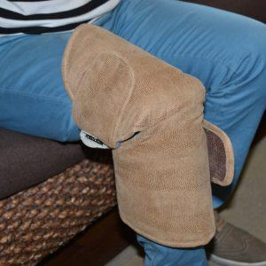 Centura genunchi cu turmalina si infrarosii