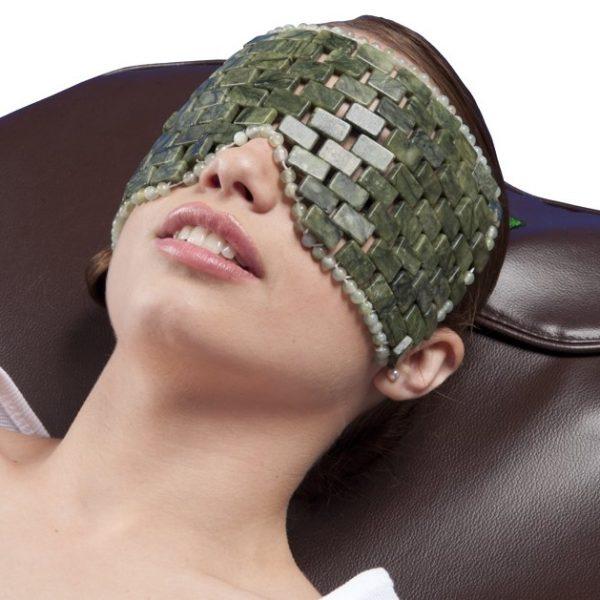 Masca faciala din pietre de jad