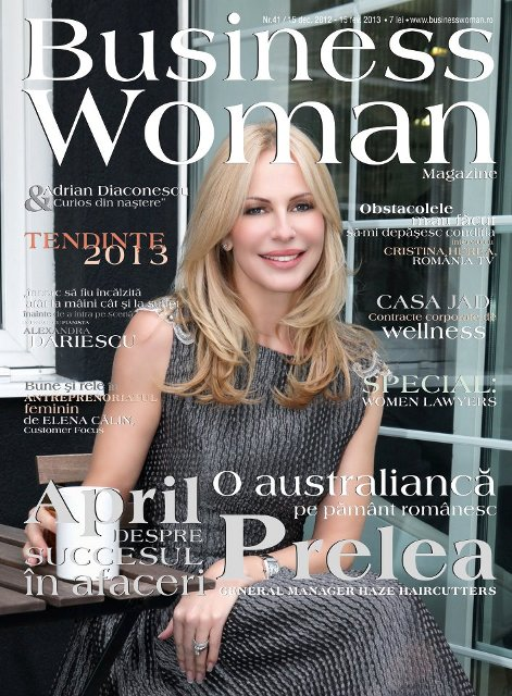 business woman coperta dec_ 2012 CASA JAD web