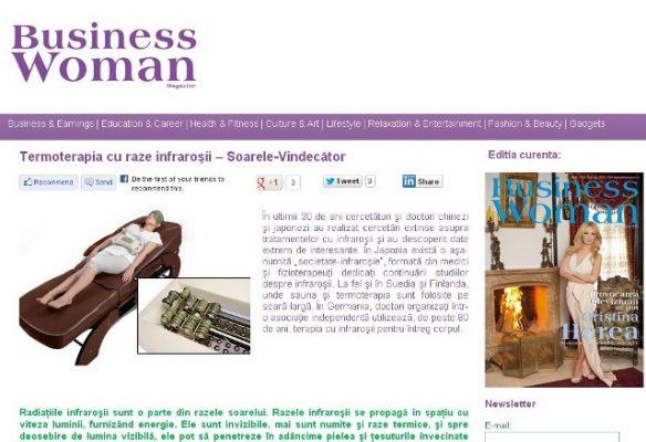 business woman raze infrarosii web