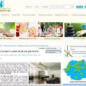 despre spa masajul la CASA JAD
