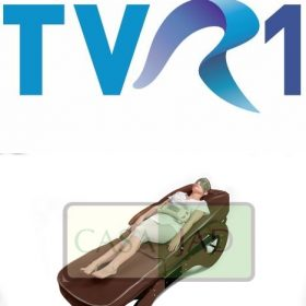 patul de masaj cu jad casa jad la TVR1
