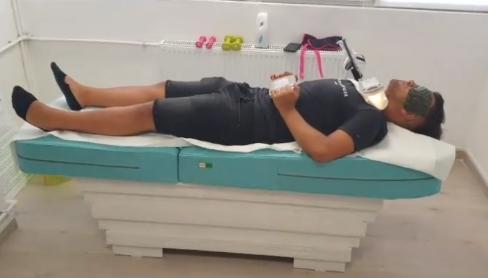 casa jad masaj pat cu role de jad si infrarosii anti durere de spate