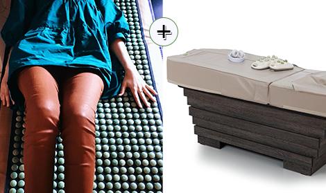 casa jad pachet doua terapii_masaj pat cu jad si saltea cu pietre jad anti durere de spate